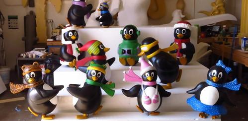 Custom Penguins Props