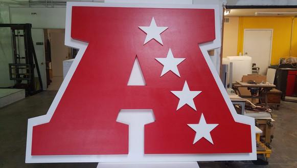 Oversize Logo Letter