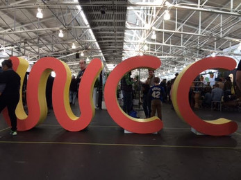 Trade Show Oversized Letters
