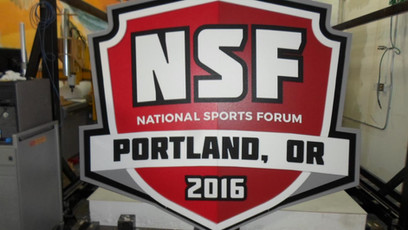 NSF Outdoor Sign