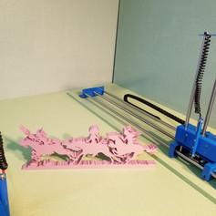 New designed CNC hot wire foam cutter