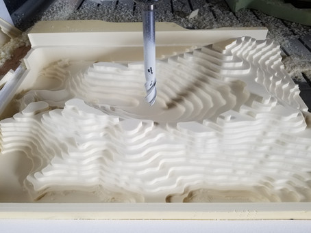 Machining Topographic Maps and Models