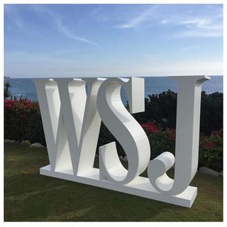 WSJ Oversized Letters