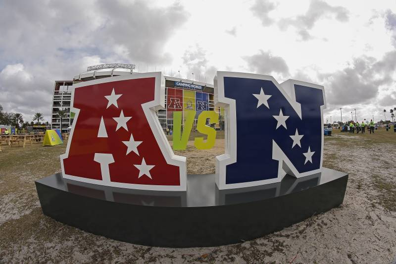 Oversized NFL Pro-Bowl Decor