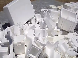 EPS styrofoam scrap foam