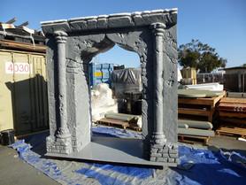 Hard coated Columns Props
