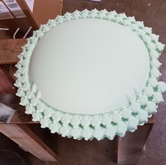 HDU foam prototype machining