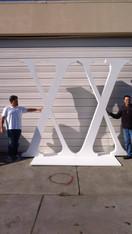 Oversize Foam Letters