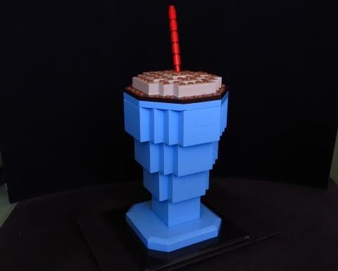 Restaurant Lego Prop
