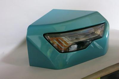 Automotive headlights prototype by WeCut