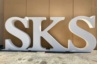 Oversized Foam Letters