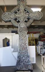 Oversized Celtic Cross Wedding Decor