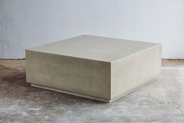 Custom Concrete Side Table