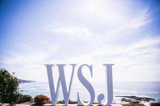 WSJ Logo Sign
