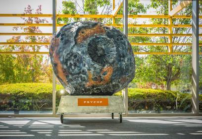 Asteroid Exhibit Dispaly