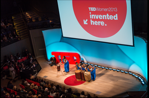 TED Foam Stage Letters