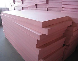 XPS Extruded Polystyrene foam sheets