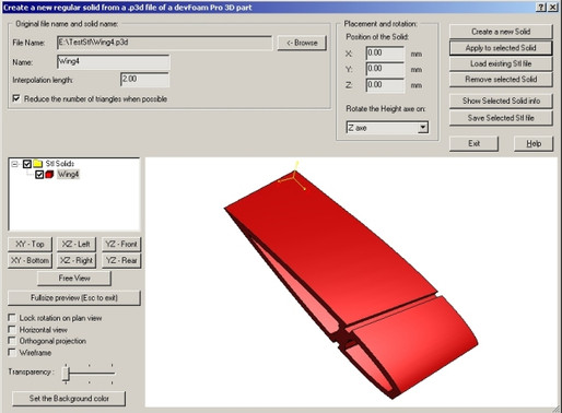DevFoam CAD for Generating G Code for your CNC Hot Wire Foam Cutter