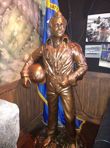 Evel Knievel Sculpture