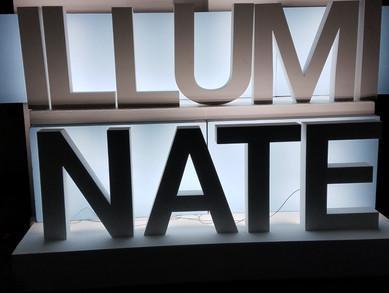 ILLUMINATE Letters