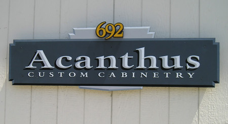 Outdoor Building Sign