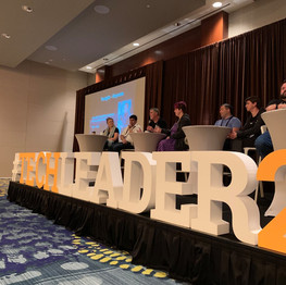 TechLeader Conference Sign