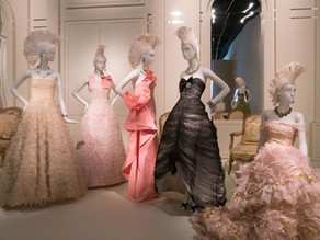 How we fabricated Decor for Oscar de la Renta Exhibition - Collaboration with Kevin Daly Architects