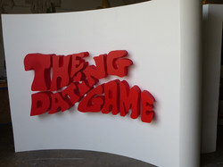 Game Show Foam Sign