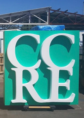 CCRE Logo by WeCutFoam