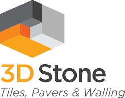 3D stone and tile logo