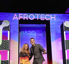 Afrotech Conference Sign by WeCutFoam