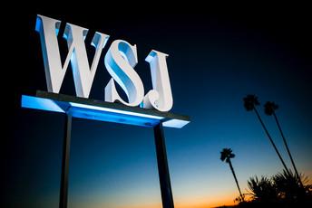 WSJ Outdoor Sign