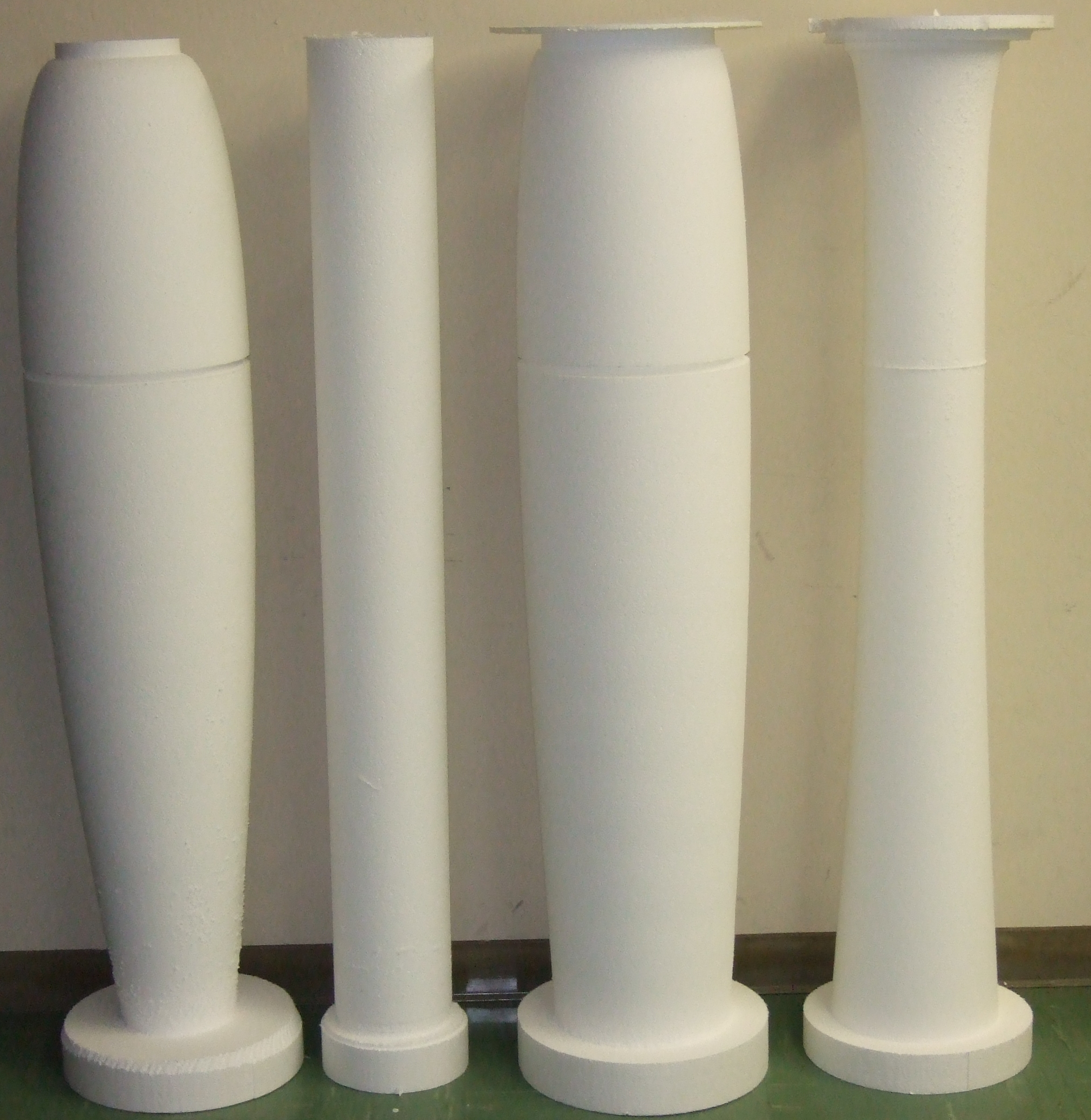 Fiberglass Machined Molds