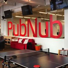 PubNub Indoor Sign