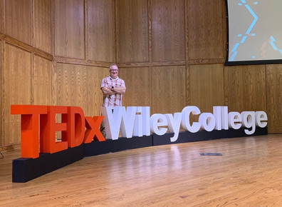 TEDx Wiley College by WeCutFoam