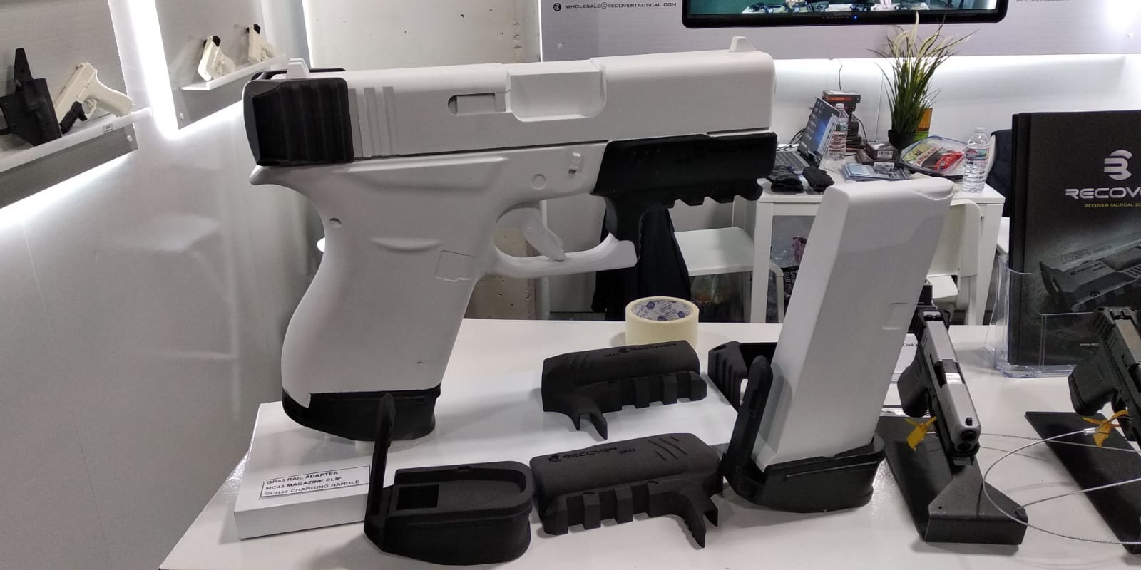 Gun Foam Props