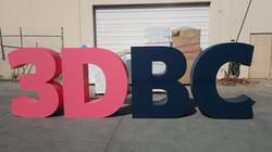Large Foam Letters