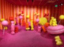 Candy Land Exhibit for Ice Cream Museum
