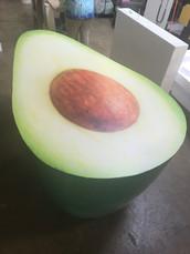 Vinyl print Avocado prop