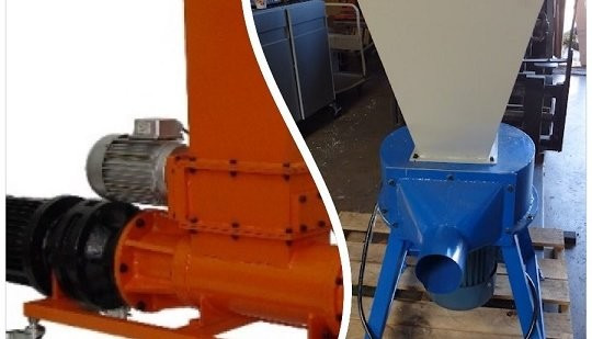 EPS foam compactor and EPS foam grinder shredder