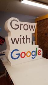 Grow with Google Vinrl Prop