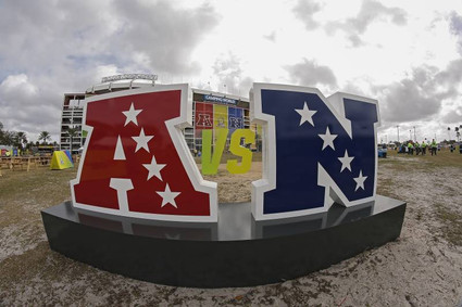 Oversize NFL Event Letters