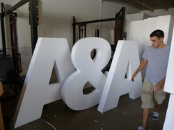 5' Dimensional Letters