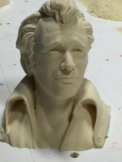 Foam Sculpture Head