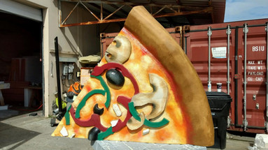 Over Sized Pizza Prop