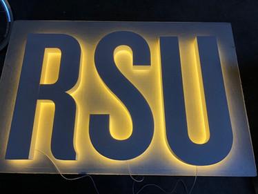 Illuminated LED Sign