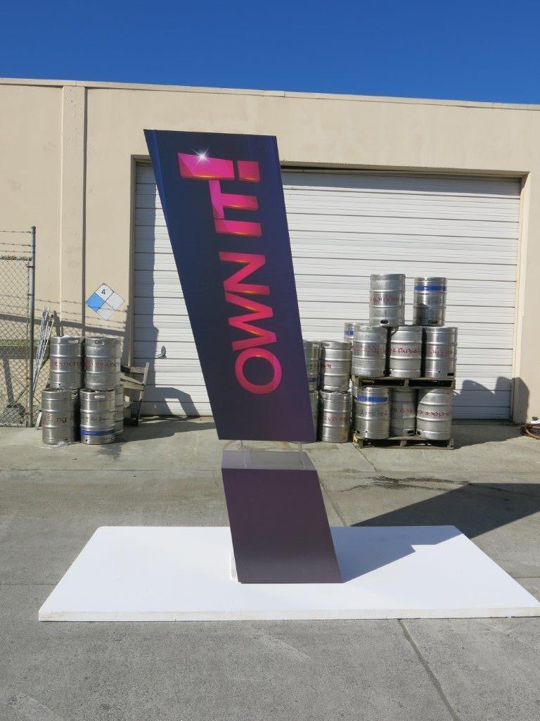 Vinyl printing foam wrapping