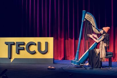 TFCU Stage Sign