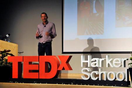 TEDx Harker School Sign