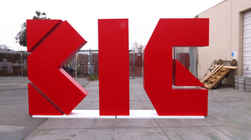 Over-Sized Letters